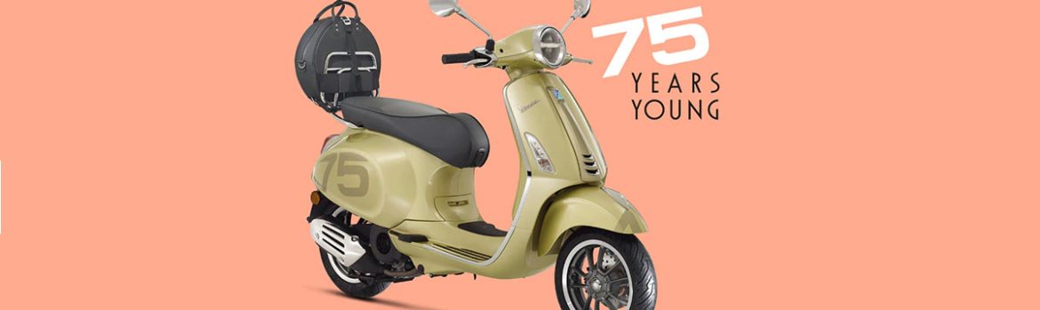 Vespa 75, Special Edition 75 Years Young
